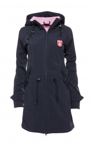 Derbe Island Friese Navy Lavendel Softshell Friesennerz