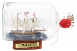 Flaschenschiff Mayflower