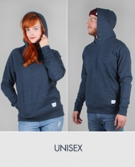 Hafendieb Schiff Unisex Hoody dark heather denim