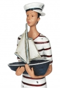 Matrosen-Figur, Boot
