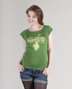 Hafendieb Girls-Shirt - Logo, gr�n