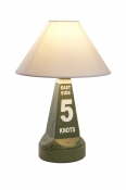 Bojenlampe 5 KNOTS GREEN gr�n