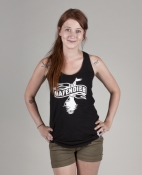 Hafendieb Logo Frauen Tank Top black