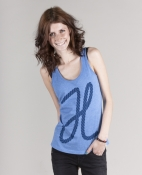 Seil Frauen Tank Top mid heather blue