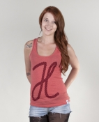 Seil Frauen Tank Top mid heather red