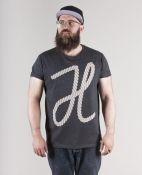 Hafendieb Seil Unisex dark heather grey