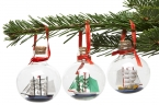 Maritime Christbaumkugeln, 3er-Set